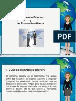 17) El Comercio Exterior y Las Economias Abiertas