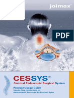 Cessys Product User Guide