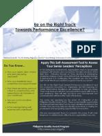 Self-Assessment Leaders Perception