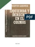 Izquierda y Derecha en El Cosmos M Gardner Biblioteca Cientifica Salvat 014 1985 OCR