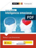 Inteligencia emocional. Las emociones