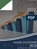 Année Boursière 2012
