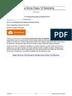 Sumita Arora Class 12 Solutions