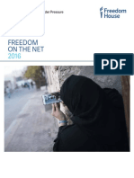 Freedom On The Net 2016