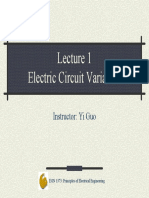 Lec01 Circuit Variables