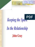 Spark in Relationship