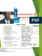 Presentation- Corporate Etiquette NKT