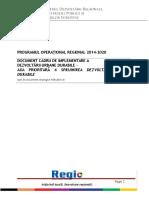 Document Cadru de Implementare Dezvoltare Urbana Durabila Publicare Ianuarie2017