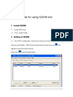 03 Tools-Guide for Using QXDM Tool