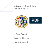Ventura County Grand Jury, Youth in Shadow, June 14, 2010.
