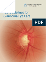 ICO Glaucoma Guidelines