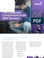 3 Essential Components ABM Solution Marketo