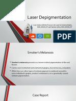 laser depigmentation