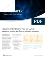Emotional Intelligence WhitePaper