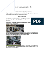 Clasificación de Los Accidentes de Tránsito