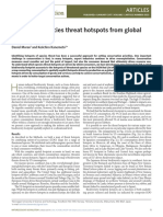 Nature - Identifying Species Threat Hotspots From Global Supply Chains