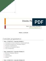 Conteudo 1 - Direito Financeiro - MPMG - Prof JV Rezende