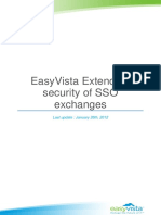 EASYVISTA Extending SSO Security Exchanges With EasyVista