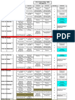 PG-Term VII-Weekly Time Table