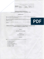 Manuel de Procedimientos 001