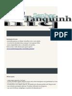 Calculadora e Lista de Alimentos Dieta Dos Pontos Senhor Tanquinho v3