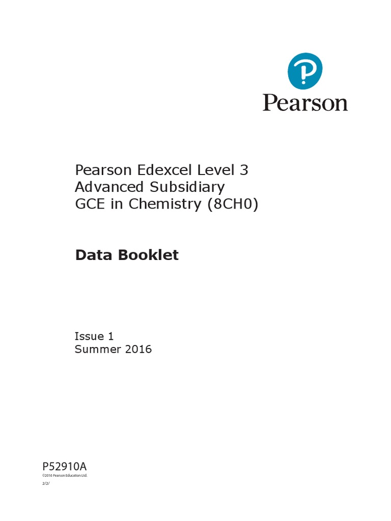 Gce chemistry data booklet 8ch0 advanced subsidiary alkene amide urtaz Image collections