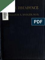 Race Decadence