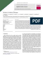 Piroliza Celulozei Si Ligninei.arboform