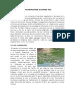 Contaminación de Basura en Ríos