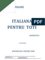 Carte Italiana GRAMATICA Noua