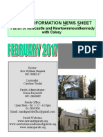 Parish Information News February 2017 - Newcastle, Calary, Newtown, Wicklow, Ireland