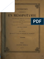 Expedition en Mesopotamie