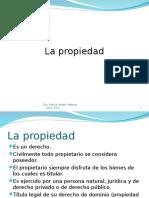 LA PROPIEDAD EN EL PERU