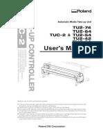 Roland TUC-2 User Manual