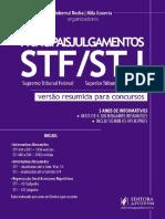 Principais Julgamentos STF e STJ - Versão Resumida Para Concursos