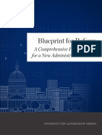 Blueprint for Reform