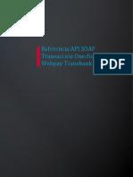 09 Referencia API SOAP Webpay Transaccion Oneclick