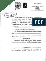 Escritura de titulización RMBS 3 FTA