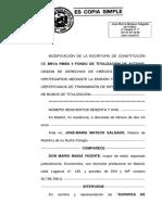 Escritura de titulización RMBS 5 FTA