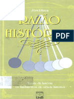 RÜSEN, Jörn. Razão Histórica. Teoria Da História I