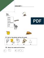 1 Worksheet 1