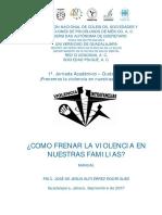 Manual Curso Taller Violencia Familiar