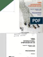 15th IAHR Ice Symp Poland 2000 All