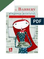 Muriel Barbery - EleganÈ›a Ariciului