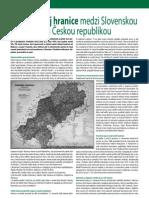 Vznik colnej hranice medzi Slovenskou a Českou republikou (Colné aktuality 5-6/2010)