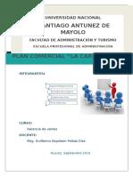 Plan Comercial La Carbonara