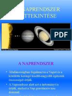 A Naprendszer áttekintése