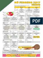Febrero 2017 Celiaco Publico Cocinado