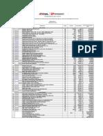 Prsupuesto Electrico Parcelacion 2013