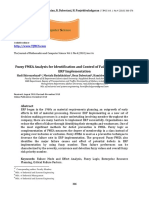 Vol1 Iss4 366-376 Fuzzy FMEA Analysis for Identification and Control of Failure Preferences in ERP Implementation-1